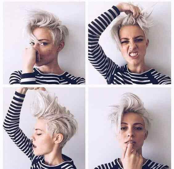 Más de 100 Ideas de peinados y cortes de pelo corto para mujeres 2019 36