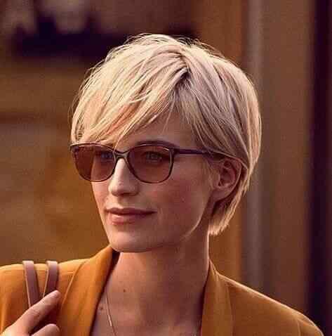 Más de 100 Ideas de peinados y cortes de pelo corto para mujeres 2019 37
