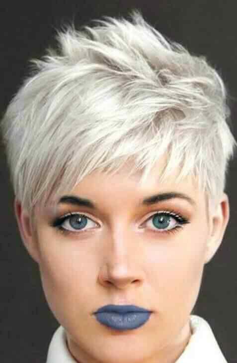 Más de 100 Ideas de peinados y cortes de pelo corto para mujeres 2019 43