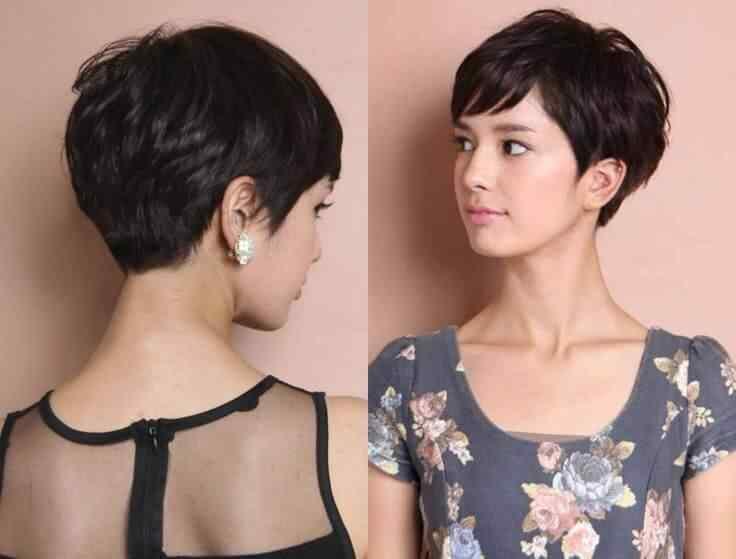 Más de 100 Ideas de peinados y cortes de pelo corto para mujeres 2019 25