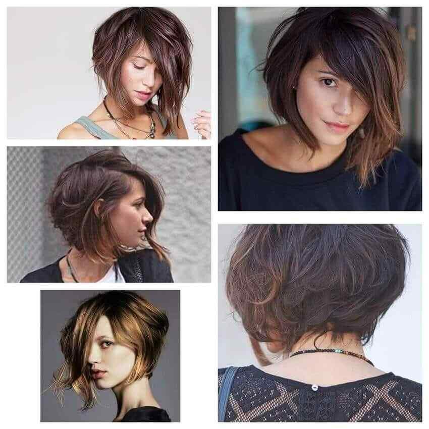 Más de 100 Ideas de peinados y cortes de pelo corto para mujeres 2019 27