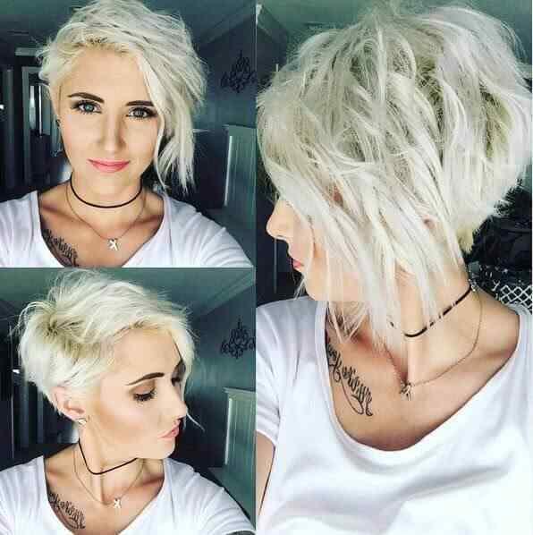 Más de 100 Ideas de peinados y cortes de pelo corto para mujeres 2019 28