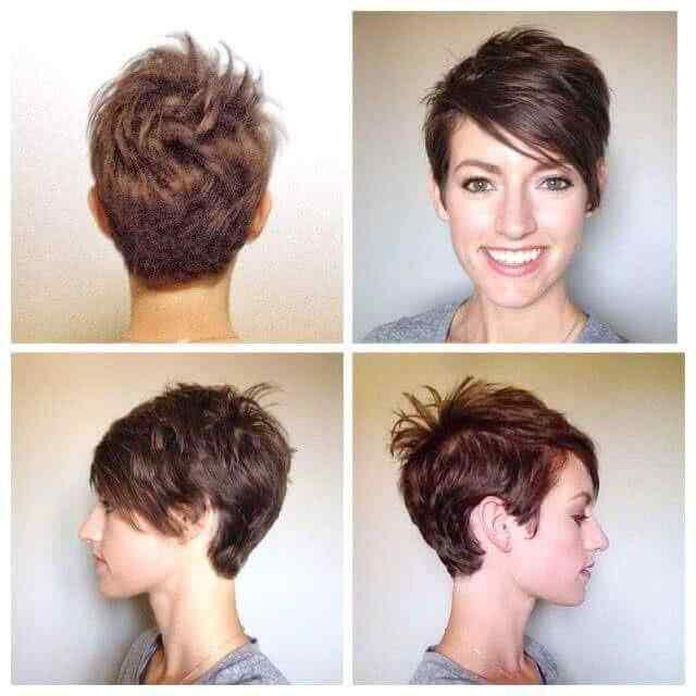 Más de 100 Ideas de peinados y cortes de pelo corto para mujeres 2019 30