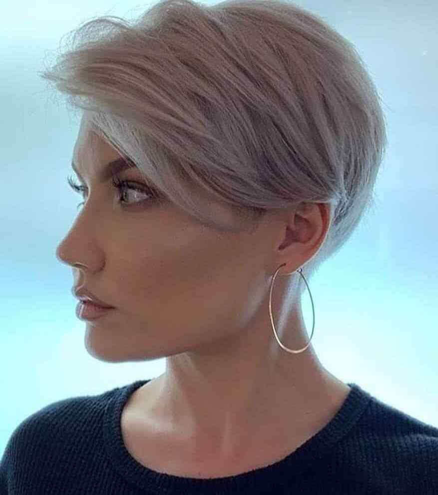Más de 100 Ideas de peinados y cortes de pelo corto para mujeres 2019 7