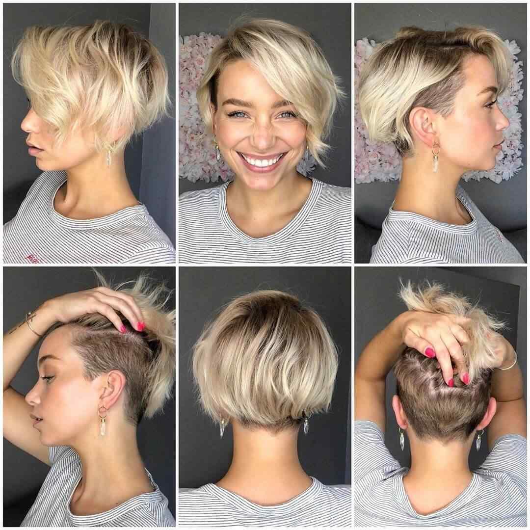 Más de 100 Ideas de peinados y cortes de pelo corto para mujeres 2019 8
