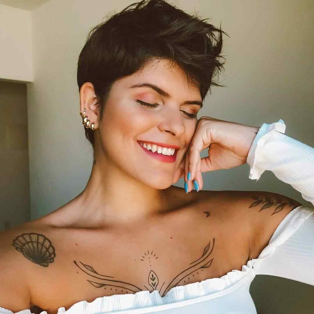 Más de 100 Ideas de peinados y cortes de pelo corto para mujeres 2019 12