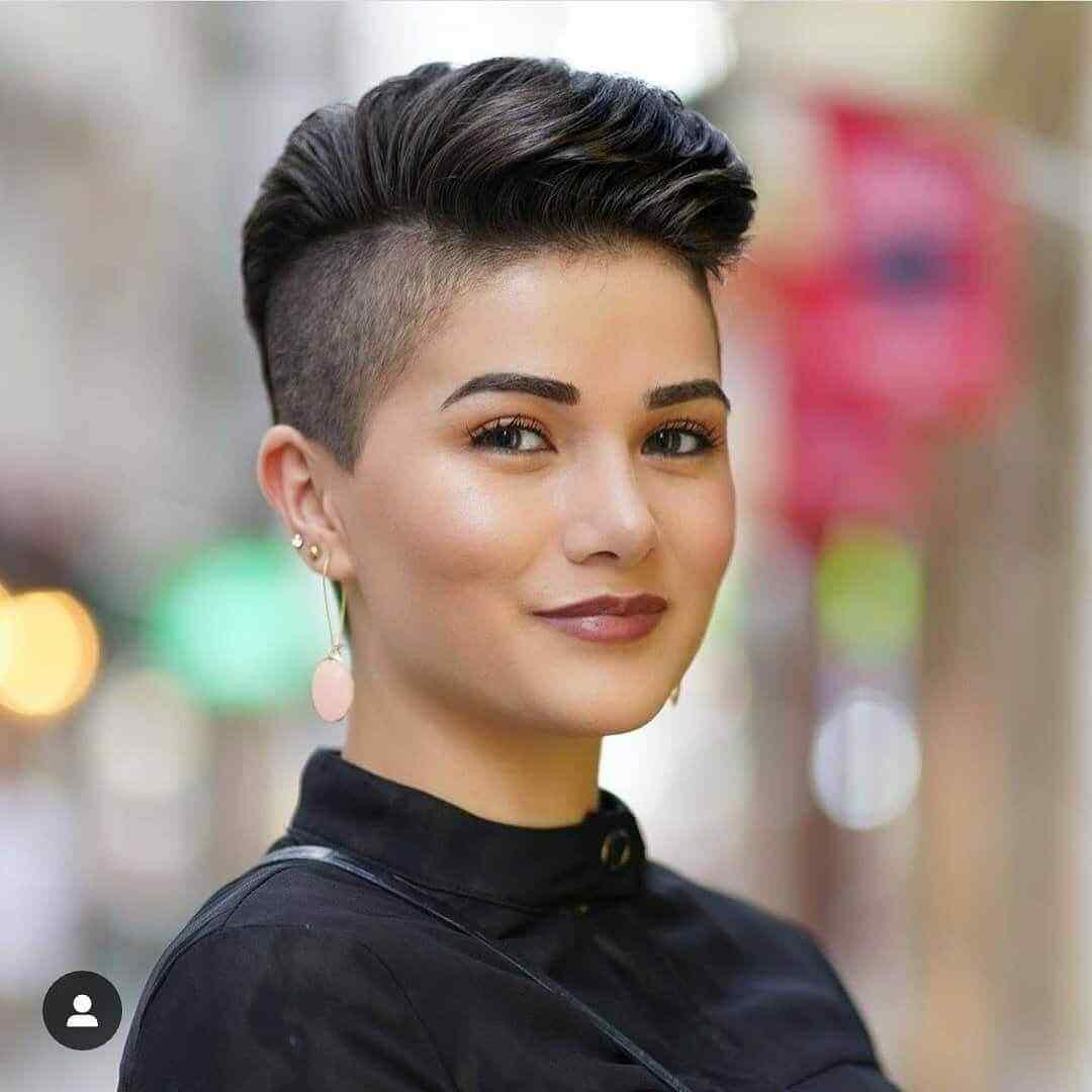 Más de 100 Ideas de peinados y cortes de pelo corto para mujeres 2019 13