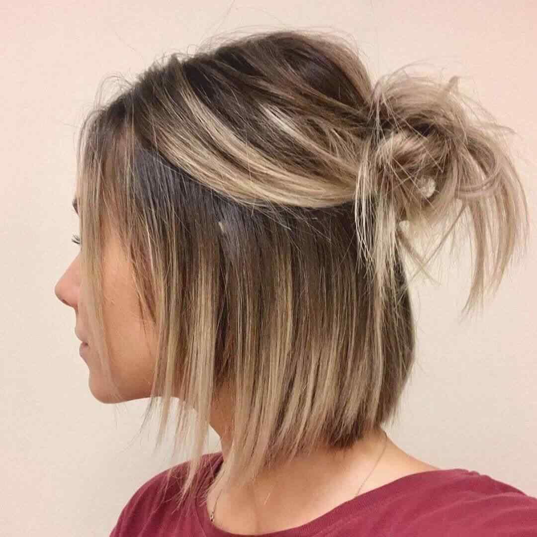 Más de 100 Ideas de peinados y cortes de pelo corto para mujeres 2019 21