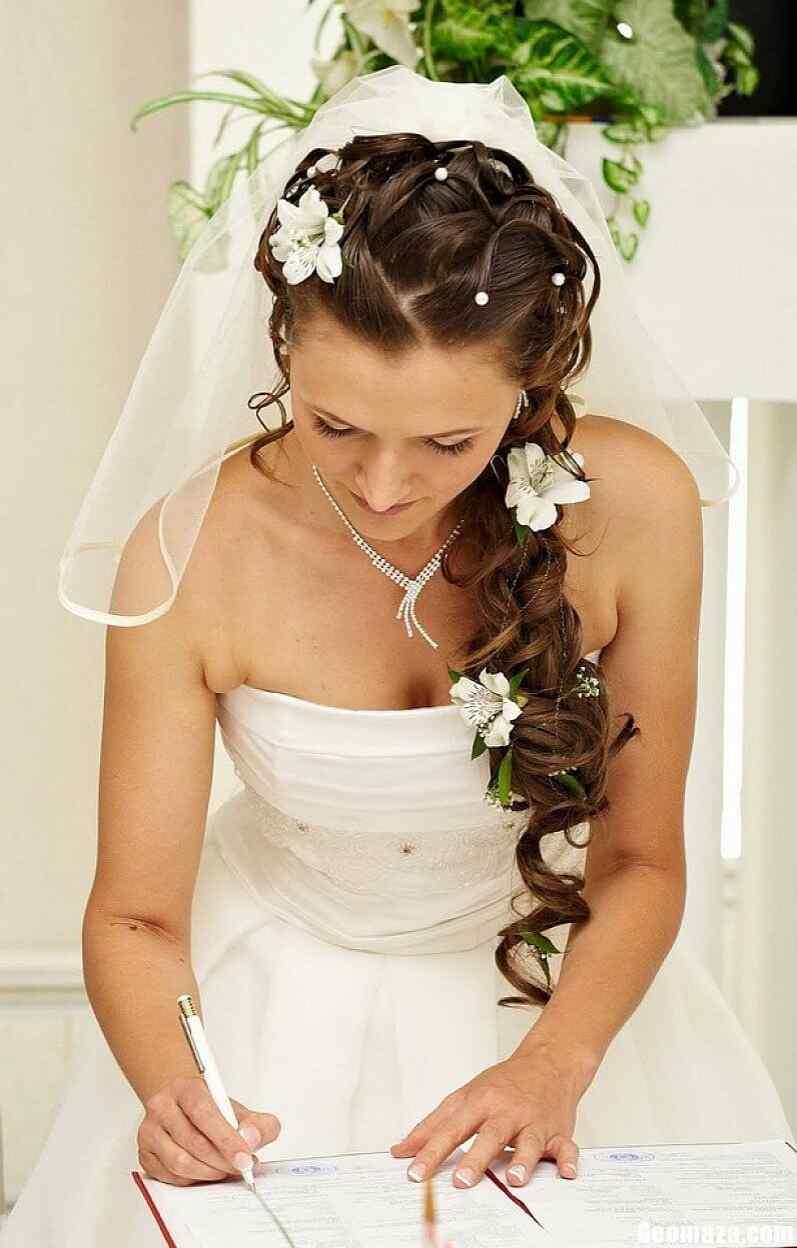 peinados con trenzas para novias (2)