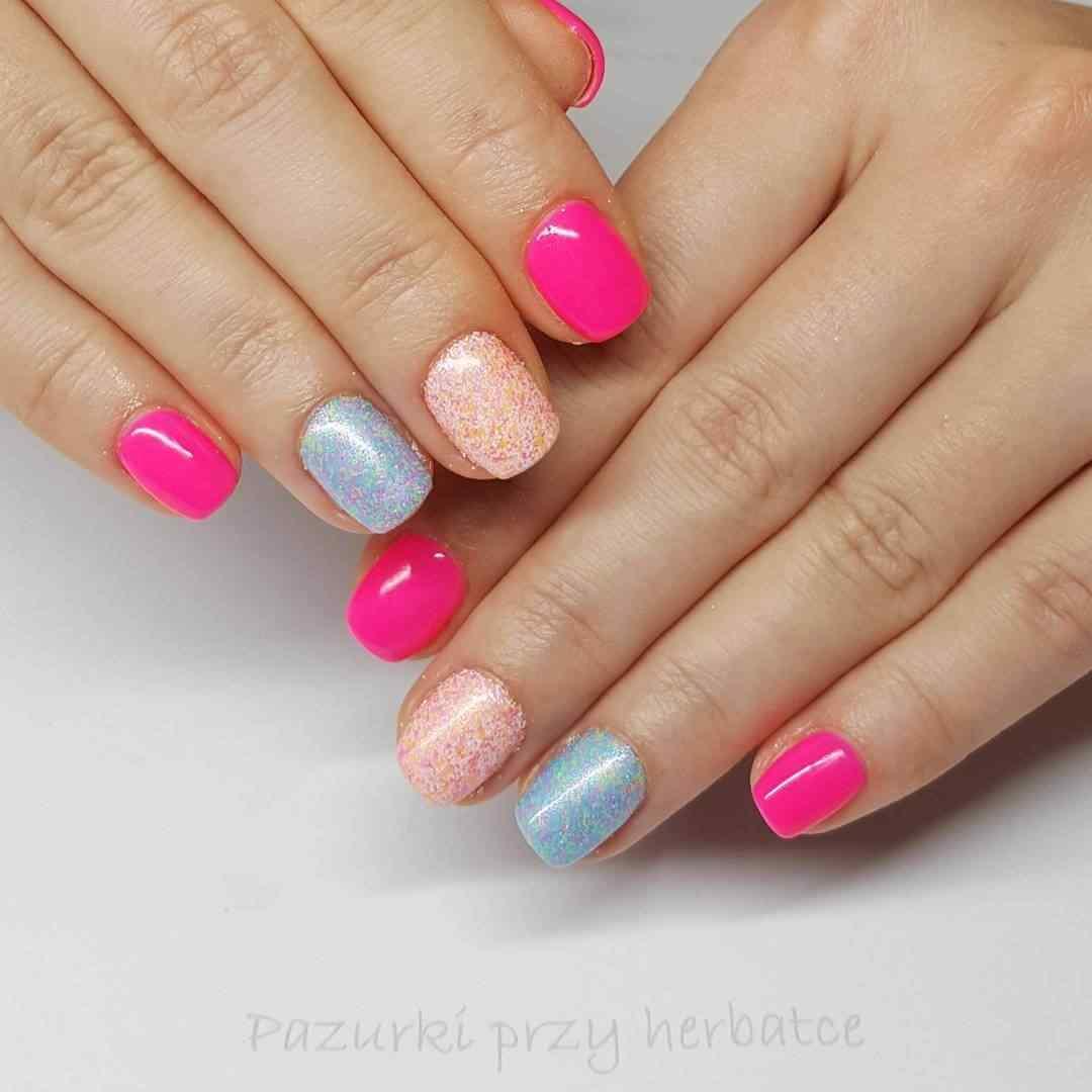 pink nails para 15