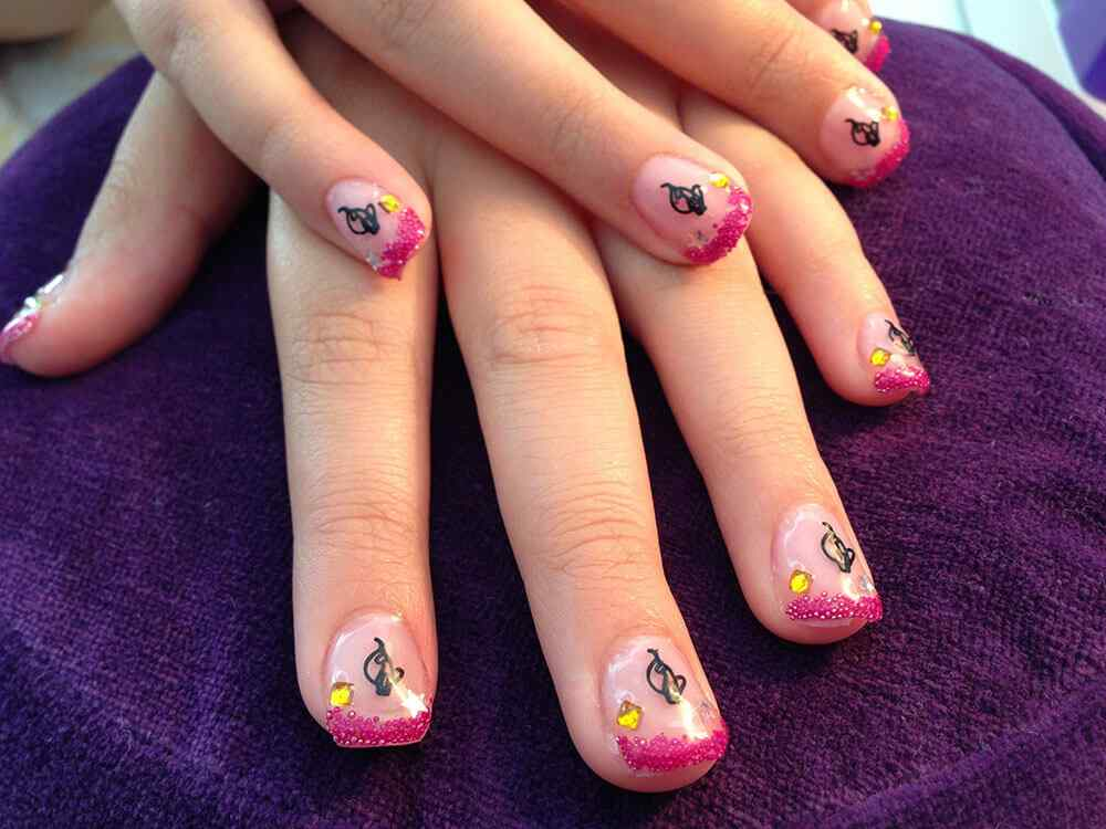 quinceaneras nail art (3)