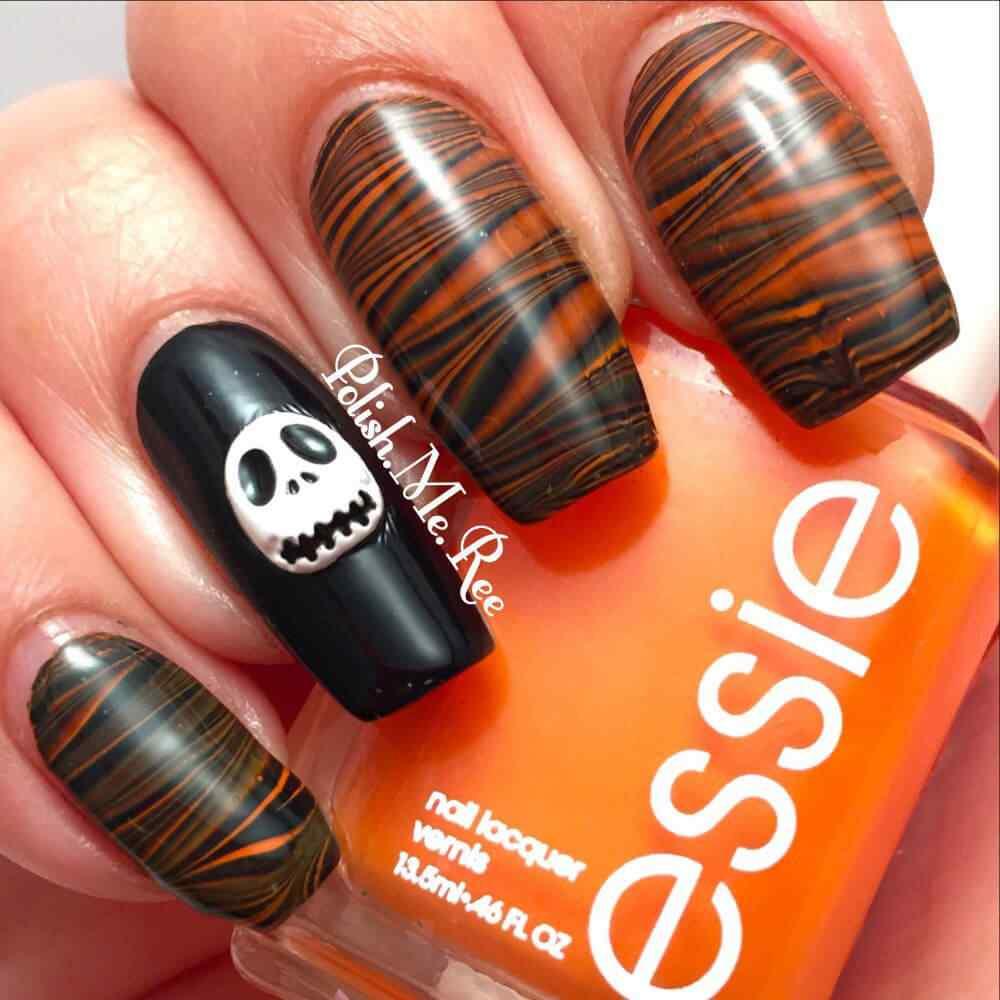 Halloween nail art 2015 2016 (1)