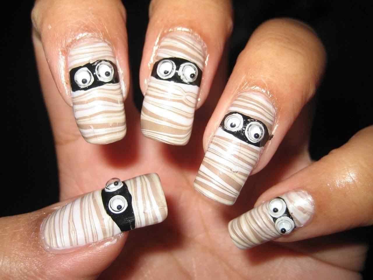 Halloween nail art 2015 2016 (10)