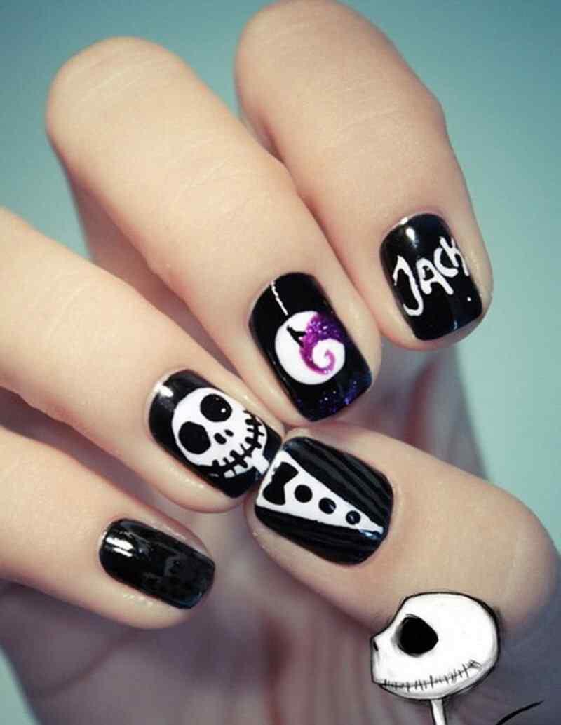 Halloween nail art 2015 2016 (5)