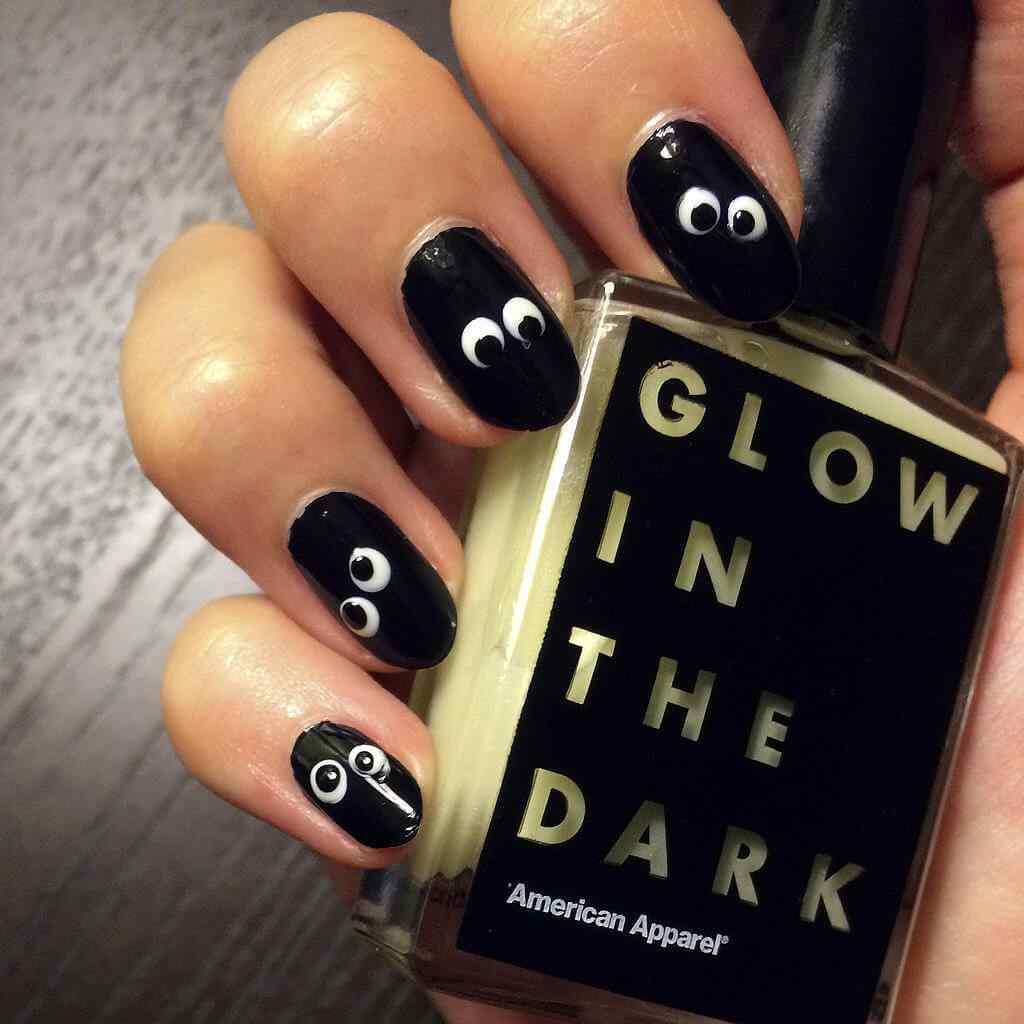 Halloween nail art 2015 2016 (8)