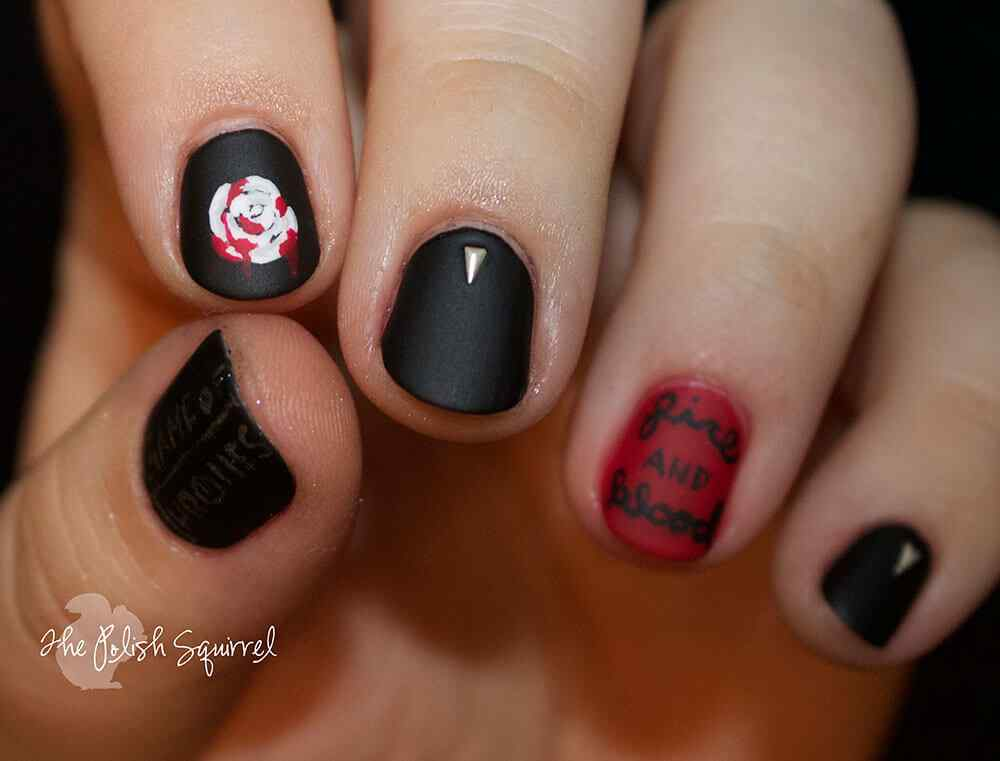Halloween nail art ideas 2015 2016 (3)