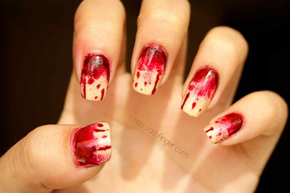 Halloween nail art ideas 2015 2016 (6)