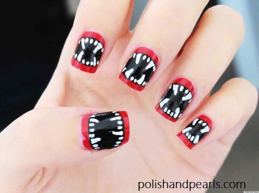 Halloween nail art ideas 2015 2016 (7)
