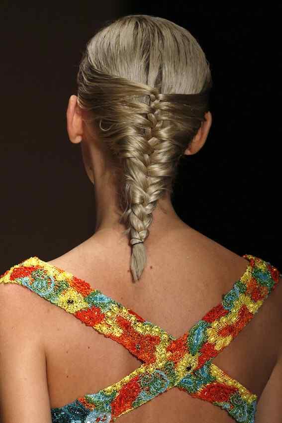 Laura biagiotti - hairstyle