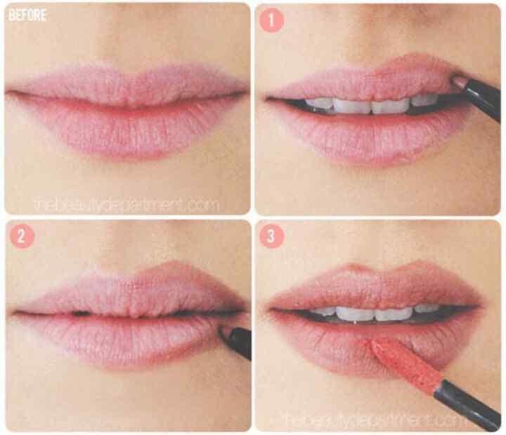 agrandar los labios