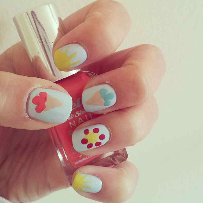 summer nail art ideas (7)
