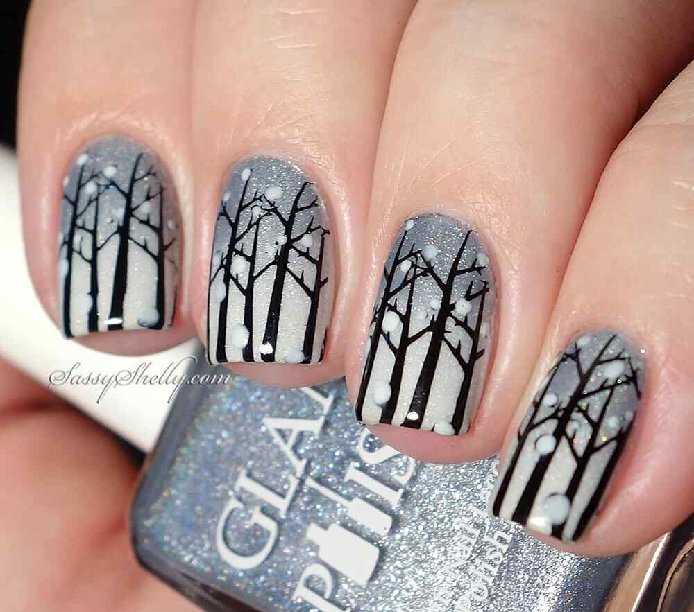 Winter nail art ideas (1)