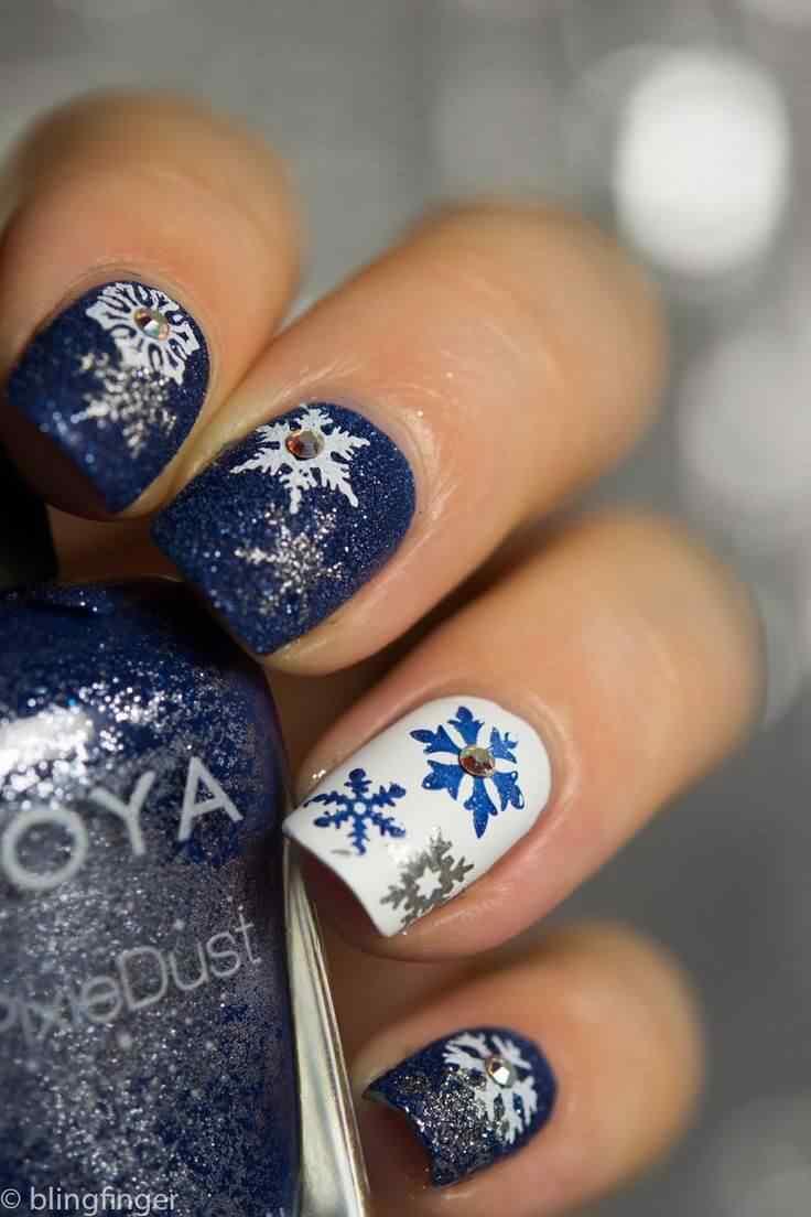 invierno decoracion de unas (2)