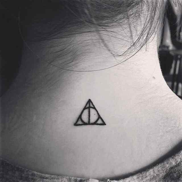 Tatuaje reliquias de la muerte Harry Potter