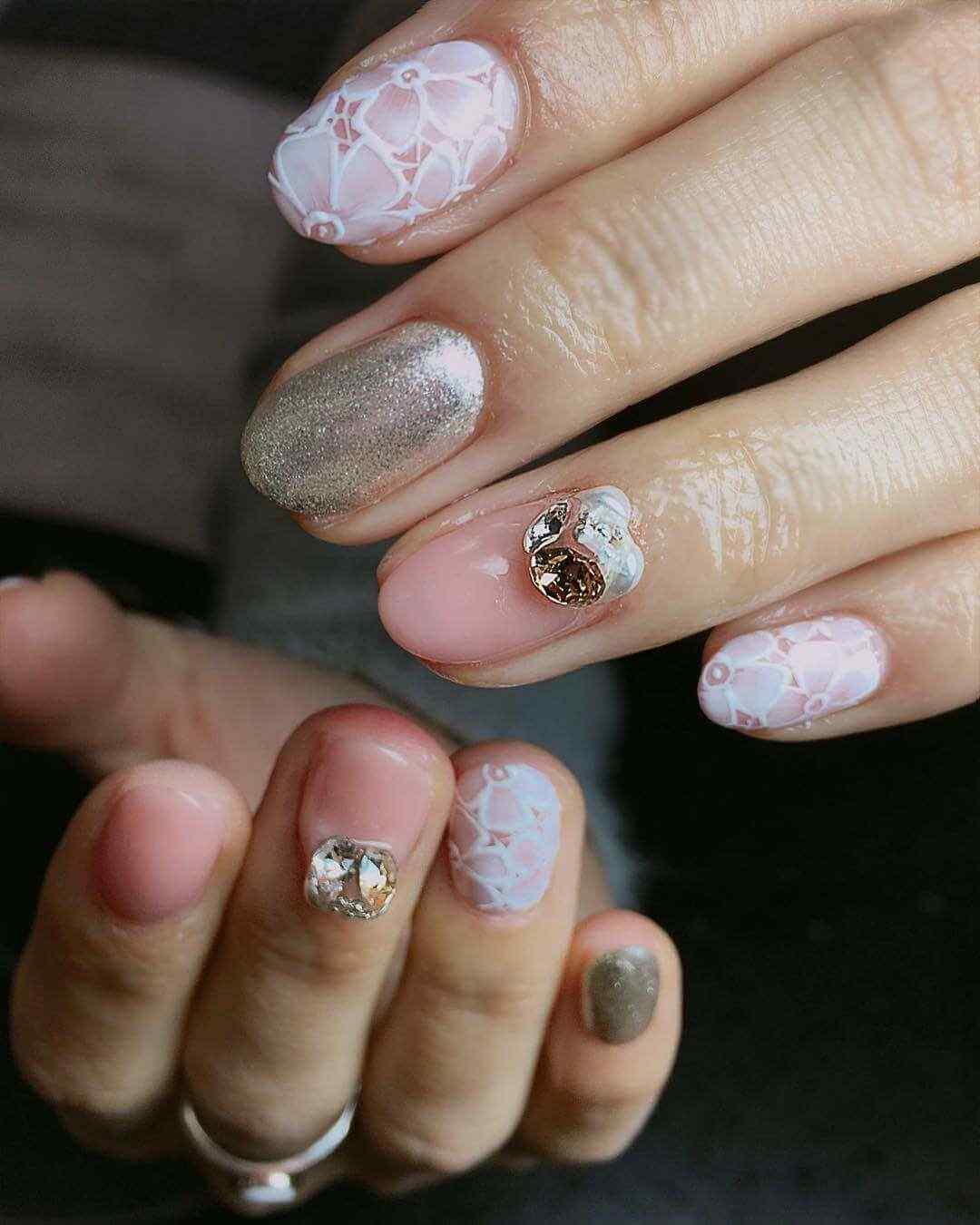 uñas de invierno elegantes
