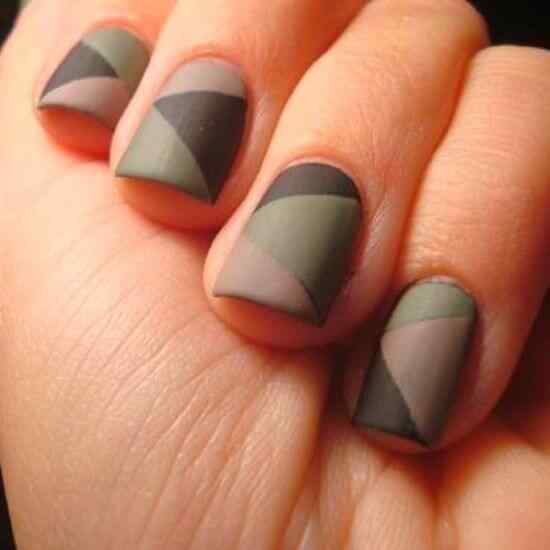 matte color nails (1)