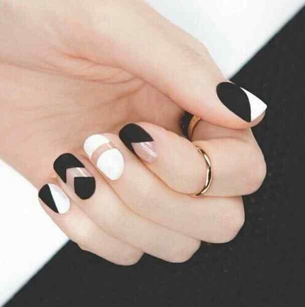 matte color nails (4)