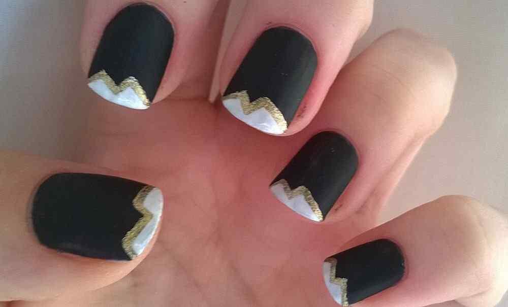 matte nail art (3)