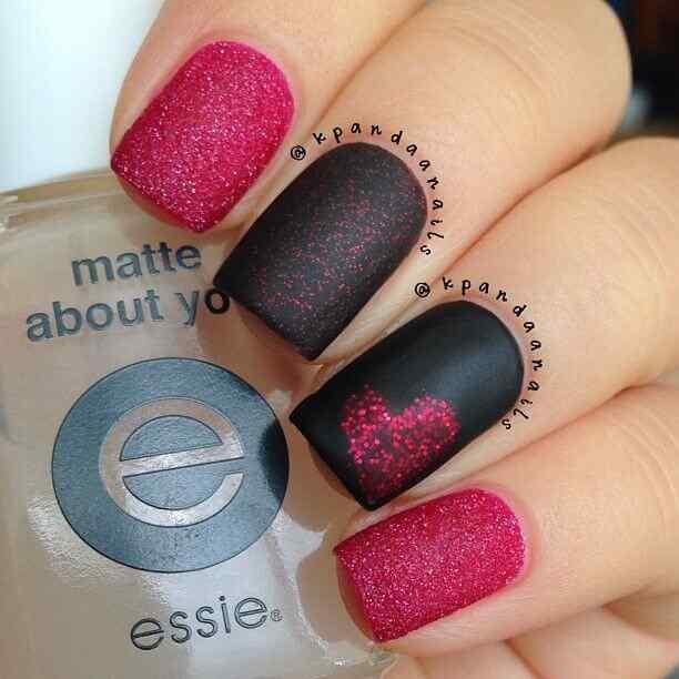 matte nail art (5)