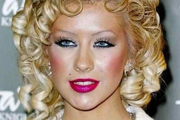 error maquillaje parpados