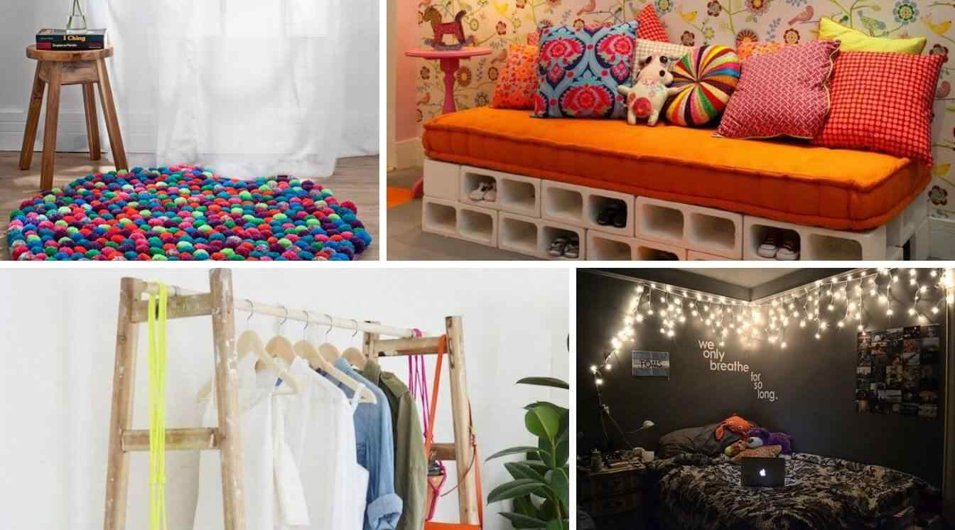 20 ideas geniales para decorar tu habitaci n sin gastar mucho for Ideas para decorar una habitacion de halloween