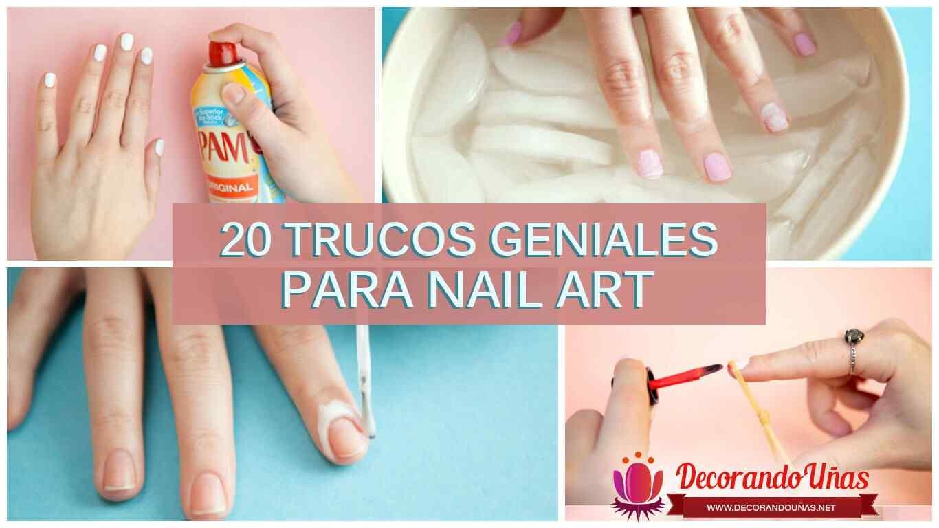Trucos para Nail art