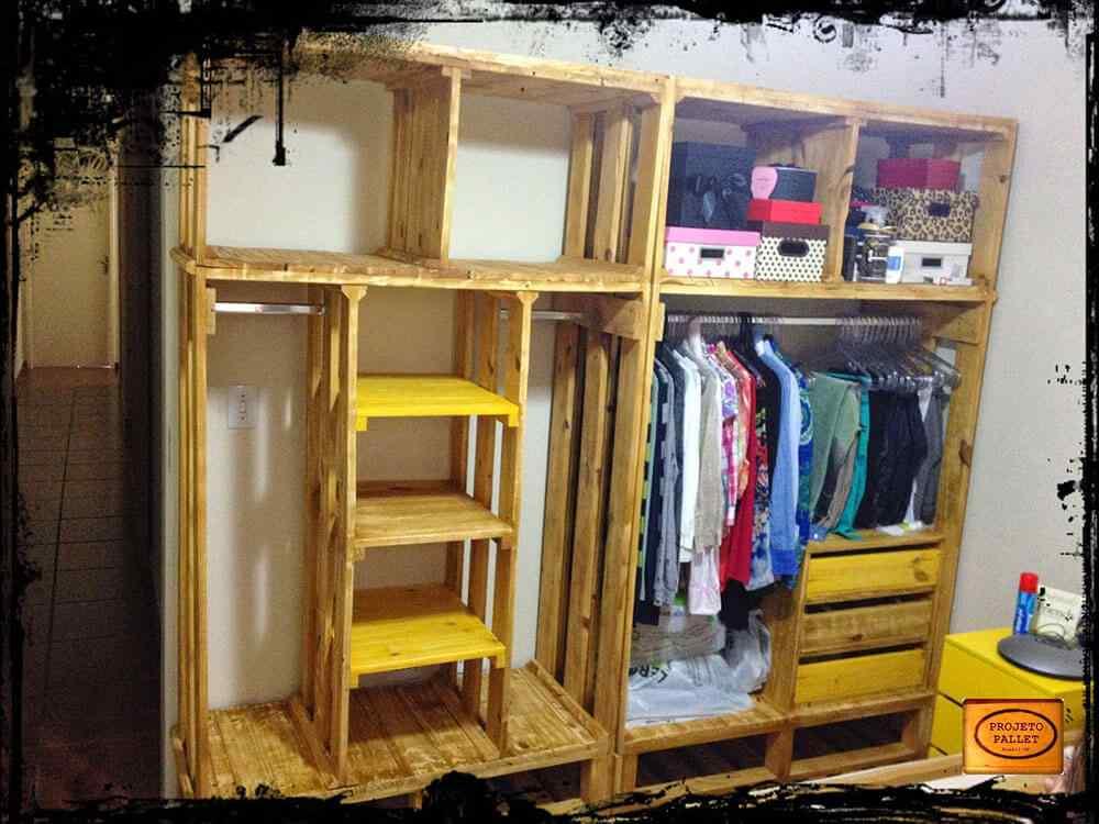 M s de 60 ejemplos de muebles hechos con palets for Bar hecho en madera