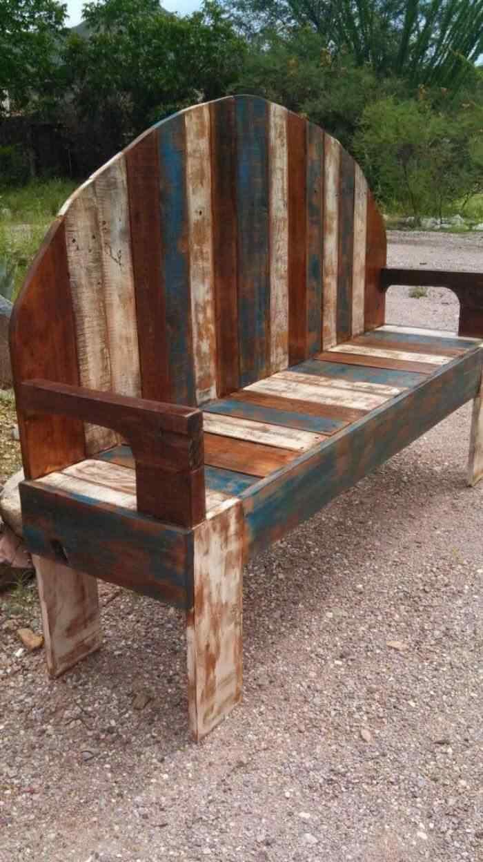 m s de 60 ejemplos de muebles hechos con palets