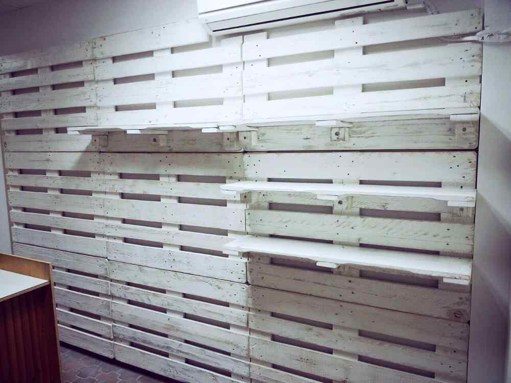 M s de 60 ejemplos de muebles hechos con palets u as - Estanterias de palets ...
