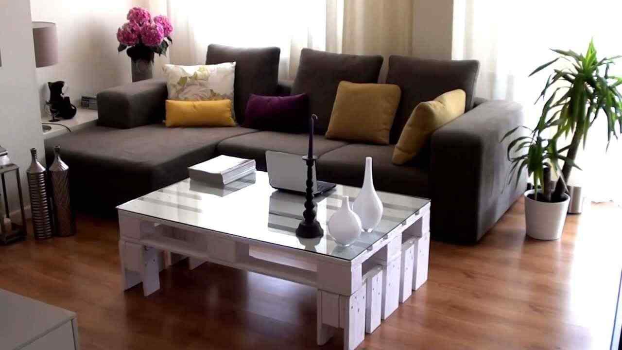 mesa ratonera de palet