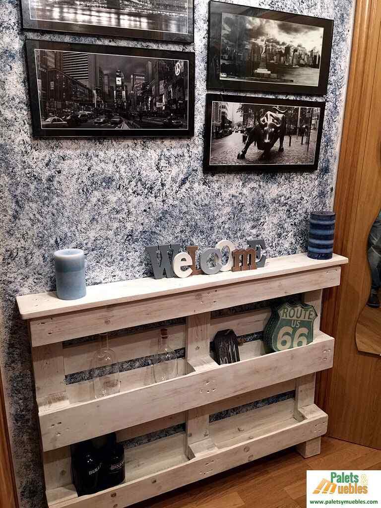Estilo vintage 10 incre bles ideas para renovar tu - Mueble recibidor rustico ...