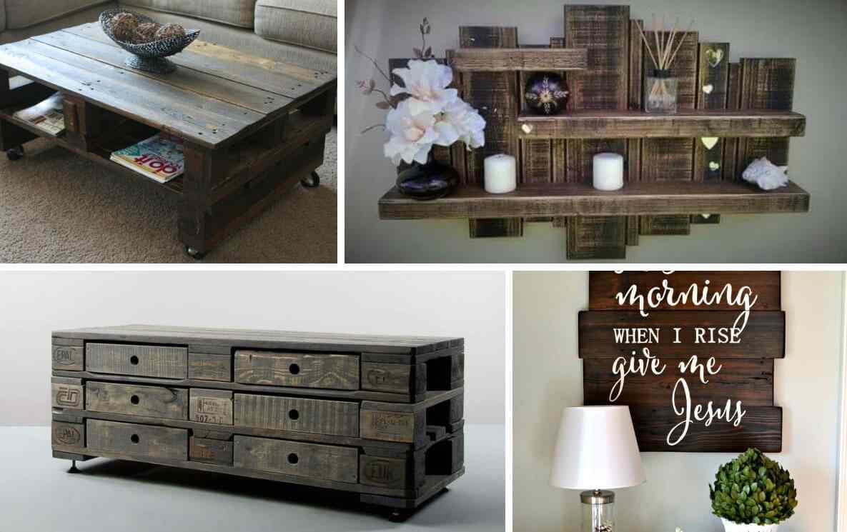 M s de 60 ejemplos de muebles hechos con palets - Que hacer con un palet ...