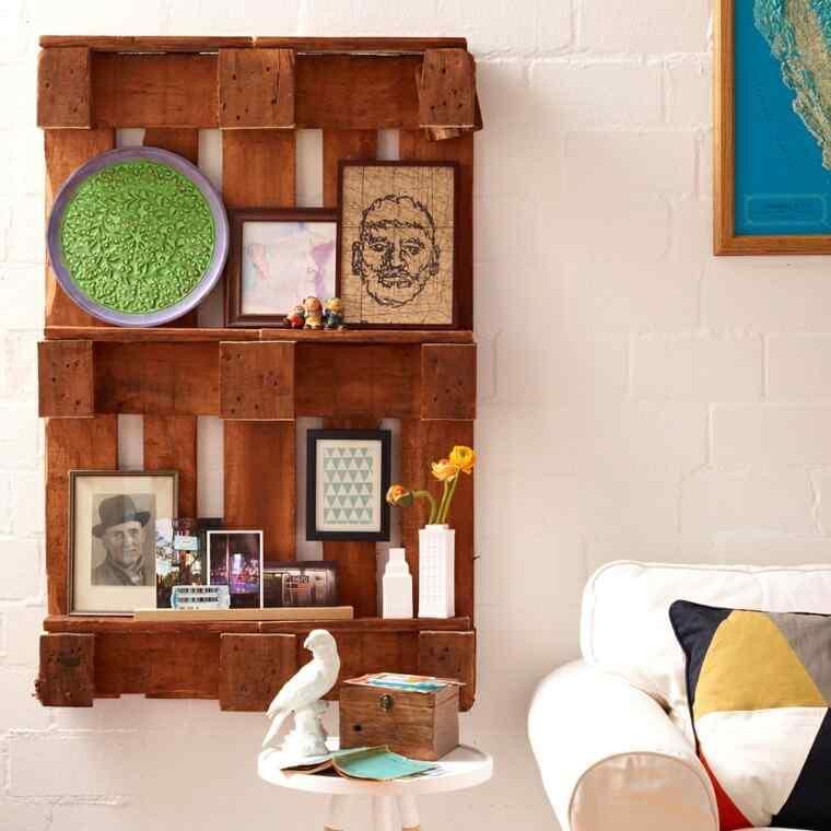 M s de 60 ejemplos de muebles hechos con palets for Muebles con tarimas para cocina