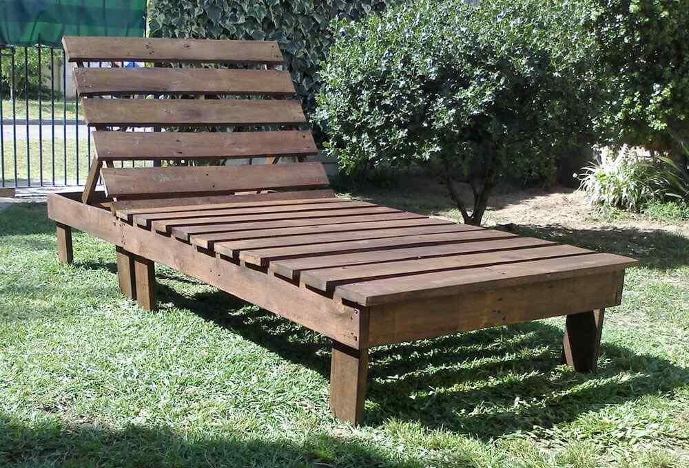 M s de 60 ejemplos de muebles hechos con palets for Muebles palets jardin exterior