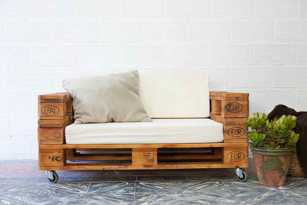 Muebles Hechos De Palets : Más de ejemplos muebles hechos con palets