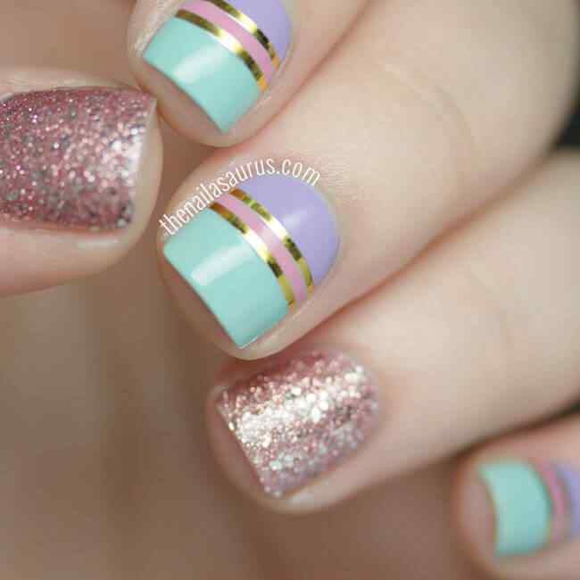 Fuente: http://www.thenailasaurus.com/2015/07/striping-tape-nail-art.html