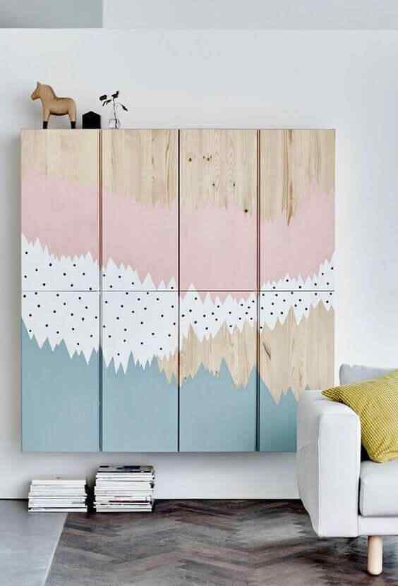 armario de palet para niños