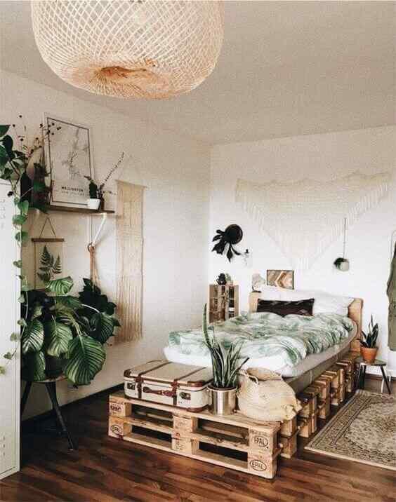 Más de 180 fotos de muebles hechos con palets 3