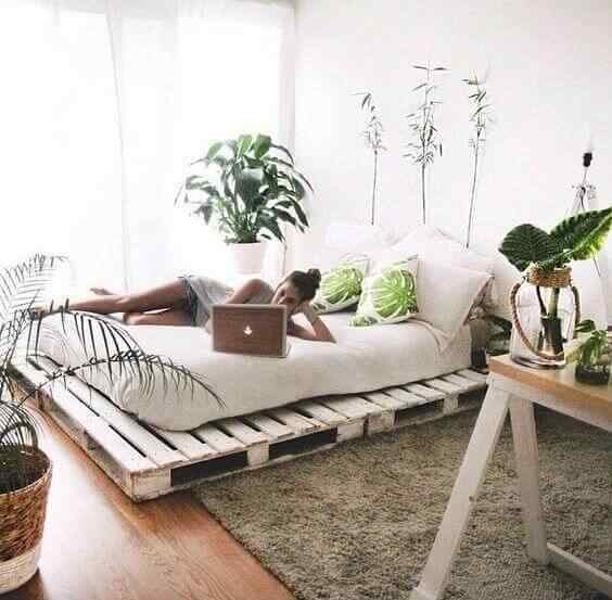Más de 180 fotos de muebles hechos con palets 4