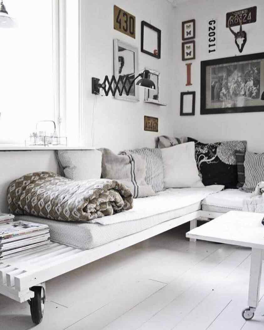 Más de 180 fotos de muebles hechos con palets 9
